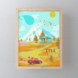 BETTER LAND Framed Mini Art Print