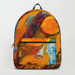 A Dance In The Milky Way Two Backpack