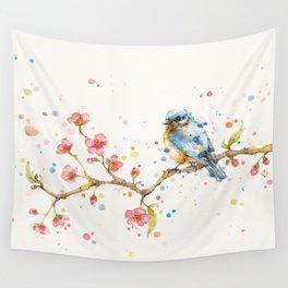 Little Journeys (BlueBird) Wall Tapestry