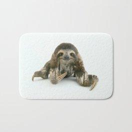 Arctic Sloth Bath Mat