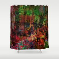 brussels Shower Curtains featuring Quartier des Marolles ( Brussels ) by Ganech joe