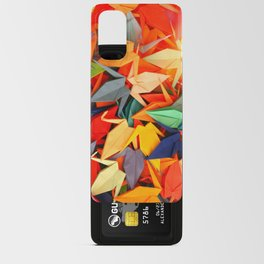 Senbazuru rainbow Android Card Case