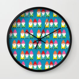 The BFF Gnomes II Wall Clock