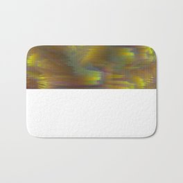 Glitch_art: Tropics_002 Bath Mat