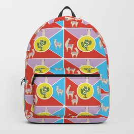 Llama and Alpaca Backpack