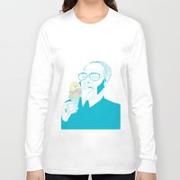 ice cream Long Sleeve T-shirts featuring ice cream by bEn HaYwArD
