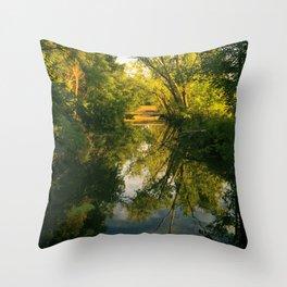 Green River Throw Pillow