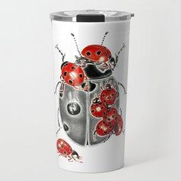 Siege of ladybugs Travel Mug