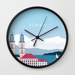 Zürich Wall Clock