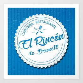 El Rincón de Brunete Art Print