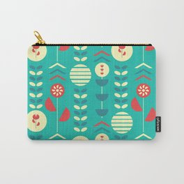 Happy modern floral decoration Carry-All Pouch