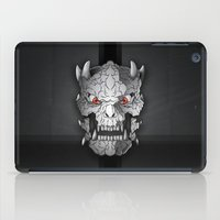 demon iPad Cases featuring Demon by Luca Giobbe