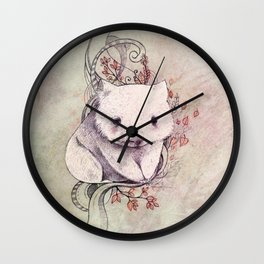Wombat! Wall Clock