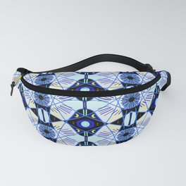 All seeing eye & mystical moons to protect you. Fanny Pack