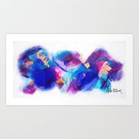 Explosions in the Sky Art Print
