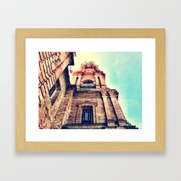 Mexico Cathedral PV Framed Art Print