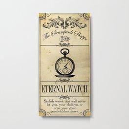 Steampunk Apothecary Shoppe - Watch Metal Print