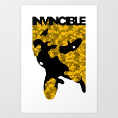 Invincible Art Print