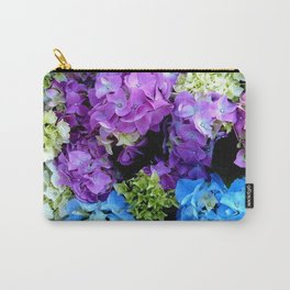 Colorful Flowering Bush Carry-All Pouch