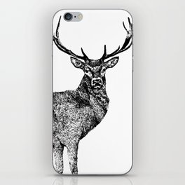 A Lone Stag iPhone Skin