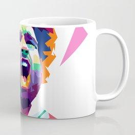 Mohammad Salah In Pop  Art Coffee Mug