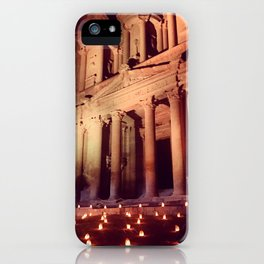 Petra by Night iPhone Case