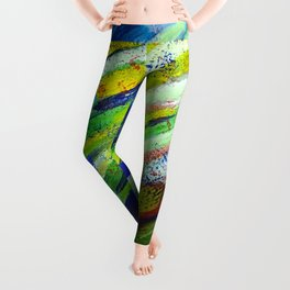 Underwater Painting Leggings