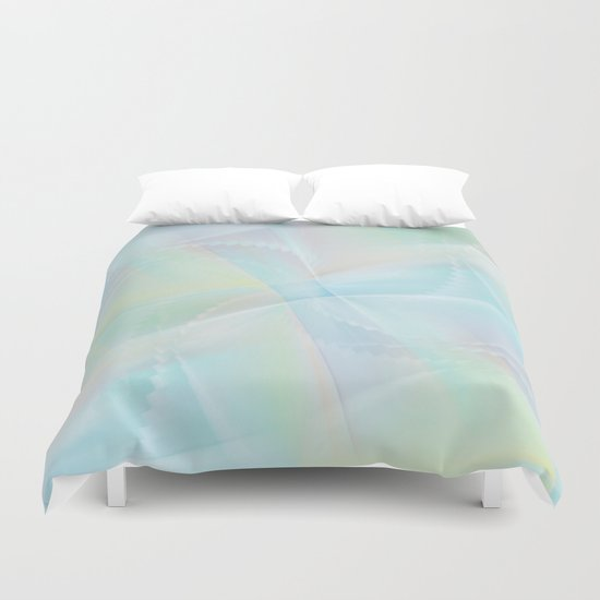 Abstract pastel no. 14 Duvet Cover