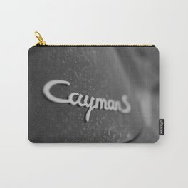 Cayman S in the Fog Carry-All Pouch