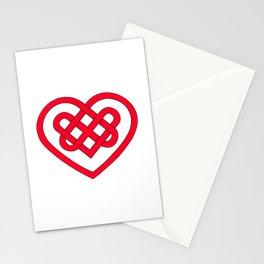 Celtic Heart (Light) Stationery Cards