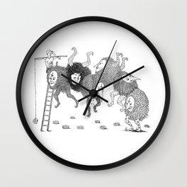 The Ladder Wall Clock