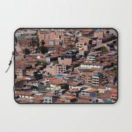 Rooftops of Peru Laptop Sleeve