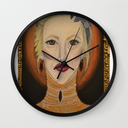 Gluttony Wall Clock