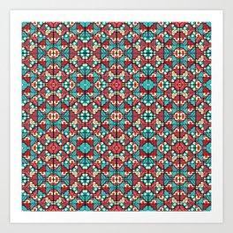 Wari II Pattern Art Print