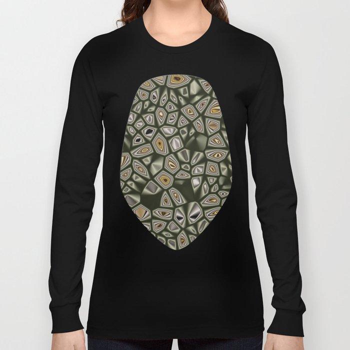 Abstract CMR 03 on VB Long Sleeve T-shirt