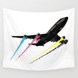 Ink Jet Wall Tapestry
