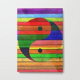 Yin Yang, Martial Arts, Medicine, Taoism Metal Print