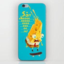 Say cheese iPhone Skin