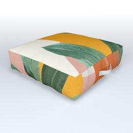 Leaf Design 03 Outdoor Floor Cushion