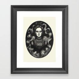 Miss Ives Framed Art Print