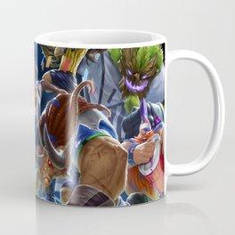 Sweeper Alistar Superfan Gragas Goalkeeper Maokai Striker Lucian Splash Art Wallpaper Background Coffee Mug