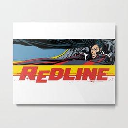 Redline Metal Print