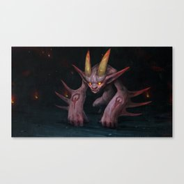 Hell Demon Canvas Print