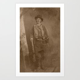 Billy The Kid Art Print
