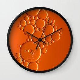 Bubble Gear Wall Clock