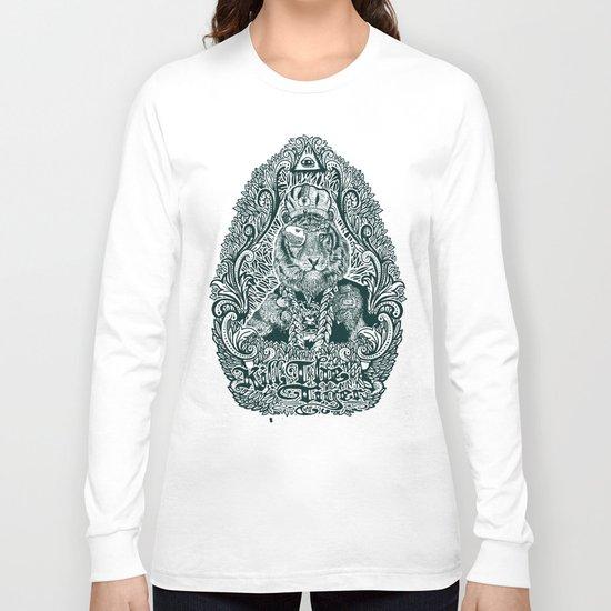 kill the tiger Long Sleeve T-shirt