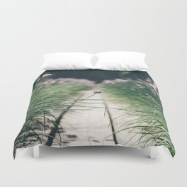 Chive Field Duvet Cover