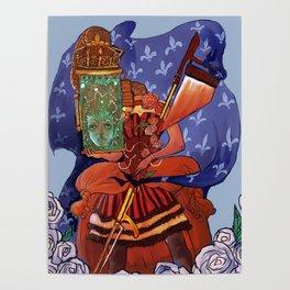 marie antoinette steampunk Poster