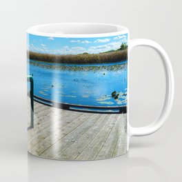 Point Pelee National Park Boardwalk in Leamington ON Canada Coffee Mug