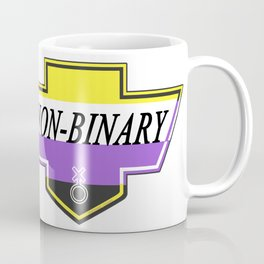 Identity Stamp: Non Binary Coffee Mug